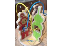 Teletubbies 1996 Wooden Toy