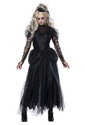 California Kostüme Dark Princess Erwachsene Damen Gothik Halloween Kostüm (Princess Halloween Kostüme)
