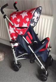 BNIB My Babiie Pushchair / Stroller - Stars
