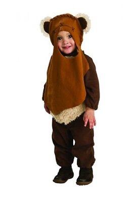 Kleinkind Jungen Star Wars Strampler Ewok Kostüm - Ewok Kostüm Kind