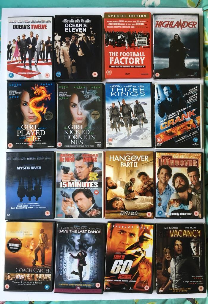 Various dvd collection used
