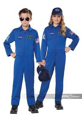 California Kostüme Nasa Overall Flug Anzug Kinder Halloween - Kinder Flug Anzug