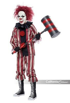 Scary Boys Costumes (California Costumes Nightmare Clown Scary Childrens Halloween Costume)