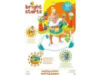 bright starts smiling safari jumperoo