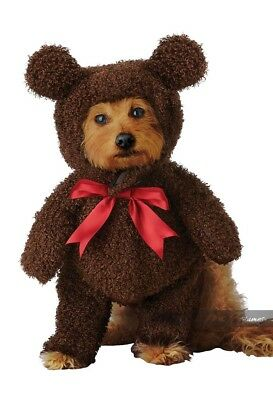 California Costumes Teddy Bear Plush Pets Dogs Animal Halloween Costume PET20162 - Animal Halloween Costumes For Dogs