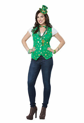 California Kostüme Lucky Lady Satz Heiliger Patricks Damen - Lucky Lady Halloween Kostüm