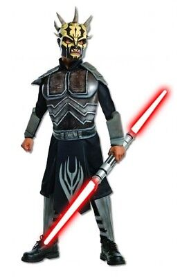 Jungen Kind Star Wars Clone Wars Deluxe Savage Opress Bösewicht - Star Wars Savage Deluxe Kind Kostüm