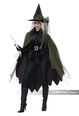 California Costumes Gothic Witch Spooky Adult Womens Halloween Costume 01428](Spooky Costumes)
