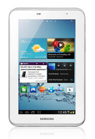New Samsung Galaxy Tab 2 White Android 7 Inch Screen P3110 WI-FI Tablet PC 8GB Bluetooth MicroSD