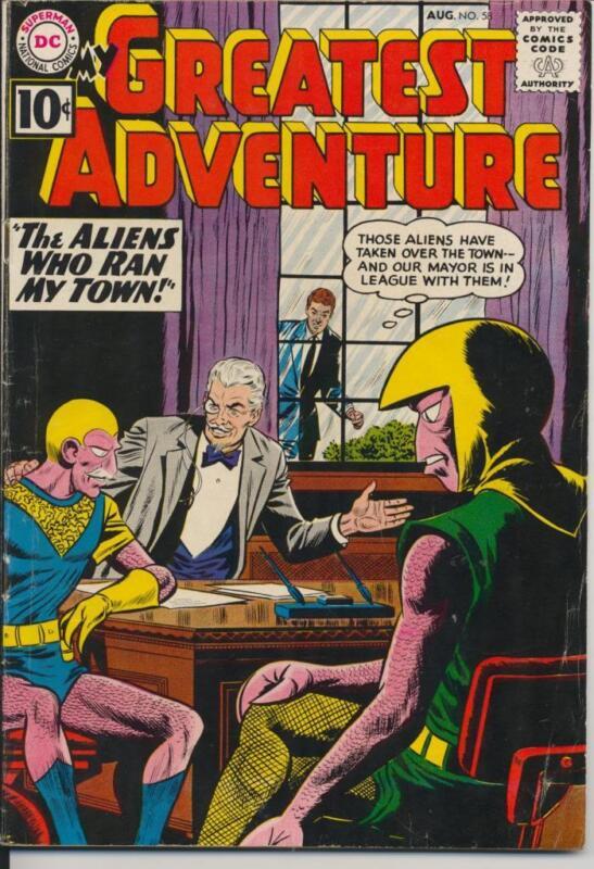 My Greatest Adventure #58 (1961) Fine Minus F- (5.5) DC Comics