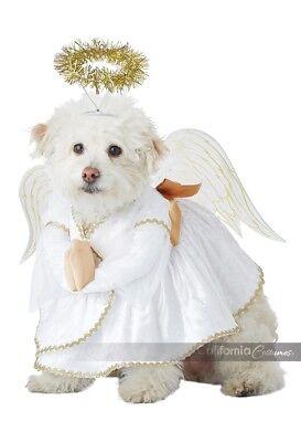 California Kostüm Himmlische Hund Engel Haustier Halloween Kostüm PET20153
