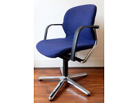 Details about Designer static swivel office chair (wilkhahn), German quality