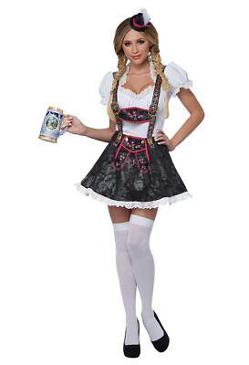 California Costumes Flirty Fraulein Oktoberfest Adult Womens Halloween Costume