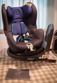 CYBEX Sirona Car Seat (Royal Blue/Navy Blue) IsoFix