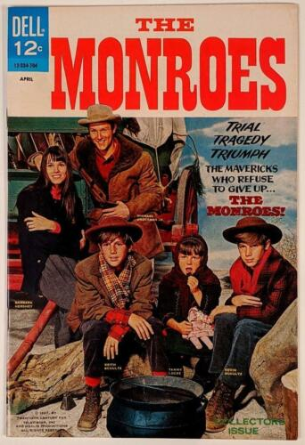 The Monroes #1 April 1967 Dell TV Tie-In Comic Book - Clean, High Grade 8.0 VF