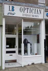 Part time receptionist required for Lyndsay Brown Optician, Marchmont, Edinburgh. 10hrs/wk