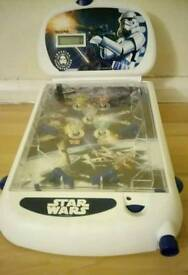 STAR WARS pinball machine.