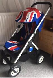 Mini Easywalker Pushchair / Stroller - Union Jack