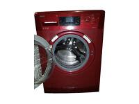 Beko WMB91442L Freestanding 9kg 1400rpm Washing Machine in RED