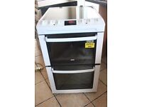 6 MONTHS WARRANTY 55cm wide Zanussi AA enegry rated electric cooker FREE DELIVERY