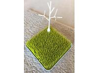 Boon bottle drying rack grass and tree