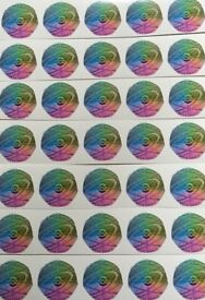 Issac Newton 50p Coin Decals