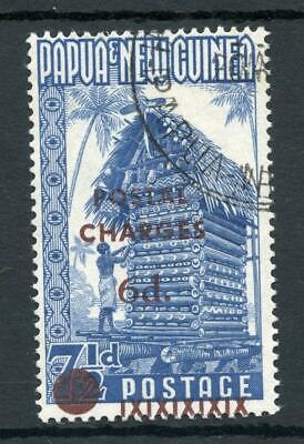 Papua New Guinea 1960 Postage Due 6d on 7½d SGD1 FU Cat £450
