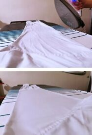 Hand ironing and laundry service