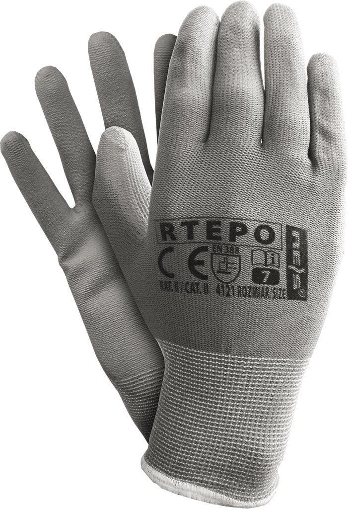 12 Paar Arbeitshandschuhe Garten Handschue Montagehandschuhe Schutzhandschuhe PU