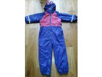 Regatta snow/puddle suit aged 48-60 month