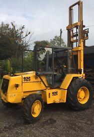 JCB 926 forklift truck like 3cx digger loadall suit self build or farm excellent order 1995