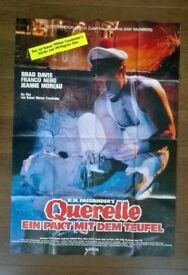 querelle ' ( f w fassbinder ) original cinema poster