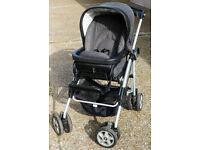Mamas & Papas MPX Travel System- Pushchair, Carrycot, Car Seat, 2x Chassis. Newborn to 4 Years
