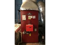 Combat Gas Fired Boiler / Space Heater – Commercial Heating System