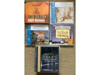 Various Audio Book CD's
