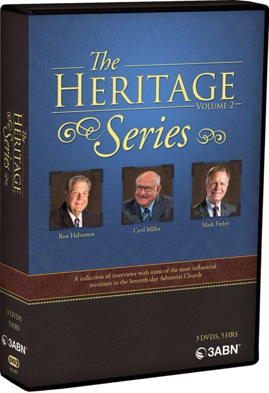 """THE HERITAGE SERIES"" VOL.2  DVD SET RON HALVERSON, CYRILL MILLER &MARK FINLEY"