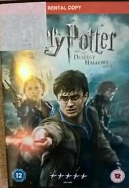 Harry potter deathly Hallows pt 1 dvd
