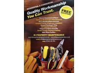 Property maintenance,Carpenter,Plumber,Tiler,Flooring,Painter, Flatpack Assembly,Decorator,Handyman