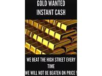 Gold bought for instant cash, broken/unwanted jewellery WE PAY MORE THAN THE HIGH STREET