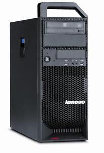 Ordinateur tres puissant Worstation Lenovo S30 4 coeurs, carte video Nvidia Quadro 2000 1Gb, processeur Intel Xeon E5-16