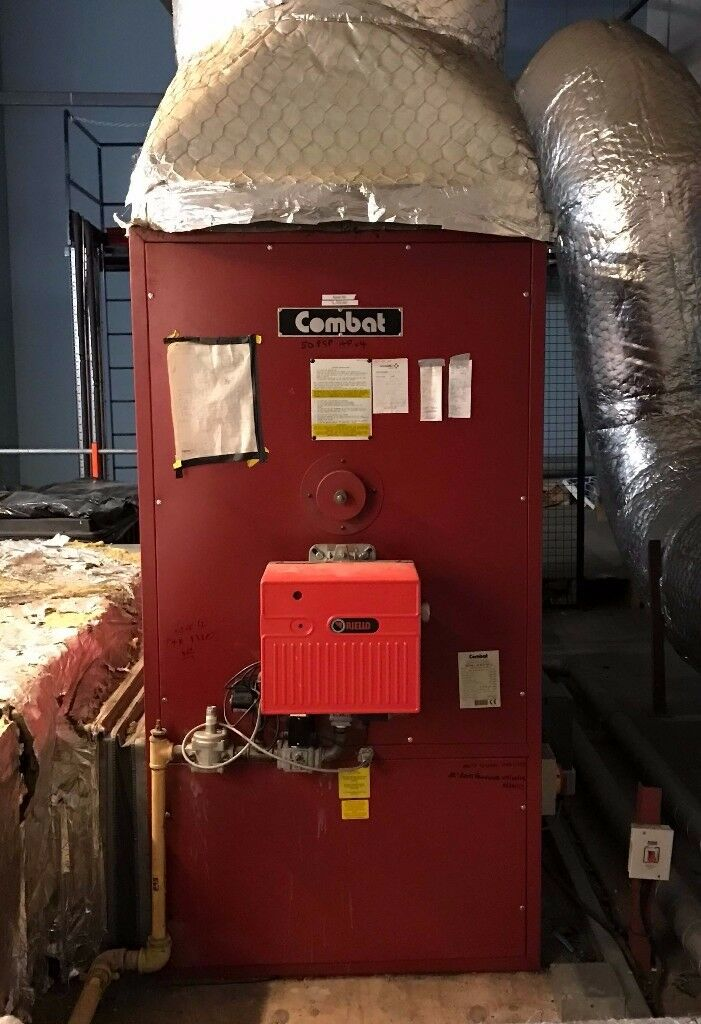 Combat Gas Fired Boiler / Space Heater –