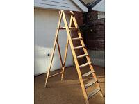 Wooden Platform Step Ladders