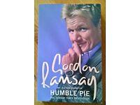"Gordon Ramsay "" Humble Pie "" paper back book."
