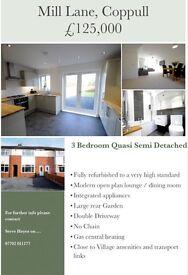 Newly refurbished 3 Bedroom Quasi Semi Detached Home
