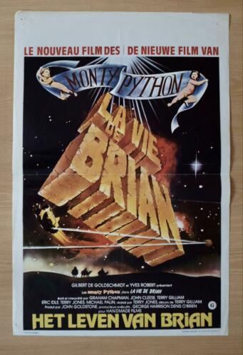 Monty Python's Life of Brian - Film Poster 1979