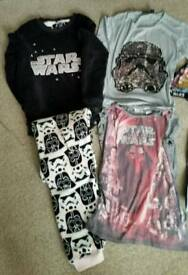 Star wars bundle age 10 -12 years