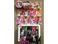 My Little Pony toys mint in packaging includes rare ponies