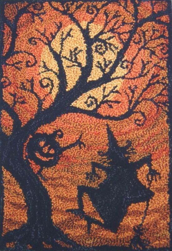 Moondance PN127 Punchneedle Punch Needle Embroidery Teresa Kogut Pattern