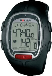 NEW-Polar-RS100-Heart-Rate-Monitor-Stopwatch-with-Wearlink-Coded-Transmitter