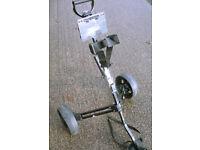 Texan Classics Folding Golf Trolley/Cart VGC (WH_1995)